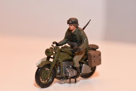WW2 German miniature plastic toy