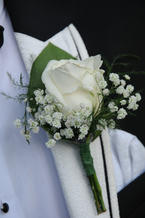 Flower Groom and bow tie