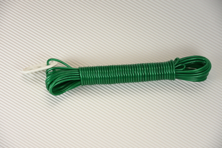 Green Plastic rope,string Reklamní fotografie