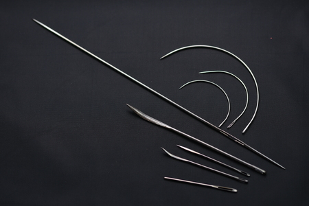 leather hand sewing needles and Curved Sewing Needle