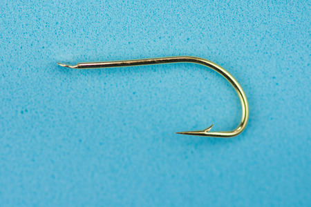 golden fishing hook
