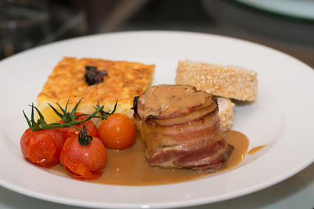 Luxury Hotel Restaurant,Party - Delicatessen, Stock Photo
