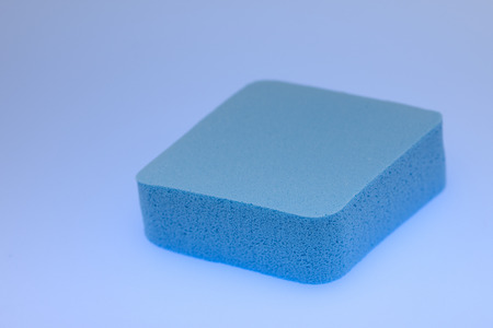 Cosmetic puff for makeup , Blue Makeup Sponge