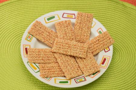 Kekse mit Sesamsamen