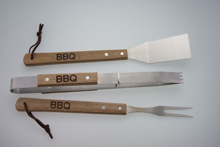 Barbeque Utensils, Set of tools for bbq