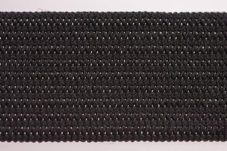 Black Elastic band,detail Stock Photo