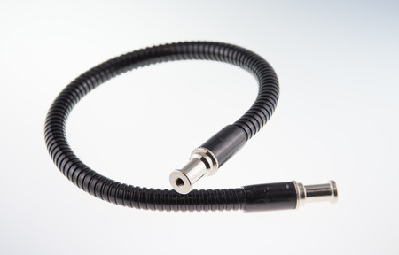 Flexible articulated arm cable