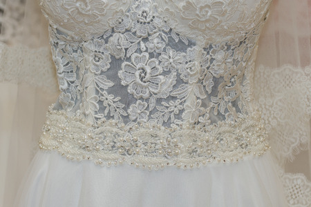 new Wedding dress ,detail