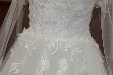 Wedding dress ,detail