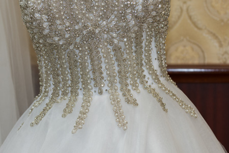 Wedding dress ,detail