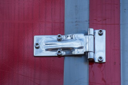 Hinge to the fire truck Imagens