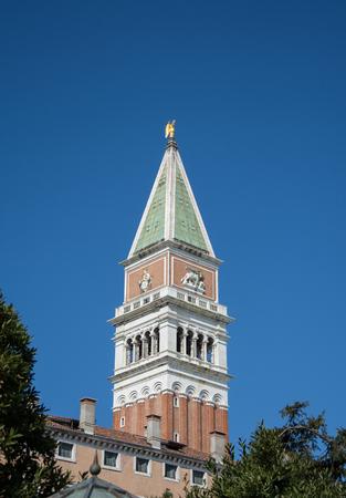 Campanile di San Marco in Venice,Italy,2019