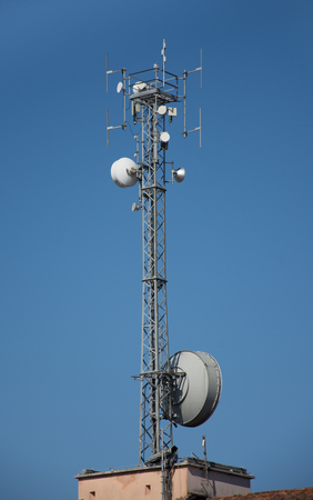 Antenna for mobile network,in venice ,Italy,2019