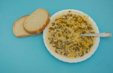 ,salad soup traditional in Romania,supa de  salate