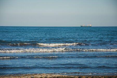 Waves of Lido di Venezia  near Venice, Veneto region, Italy.2019 스톡 콘텐츠 - 149182915