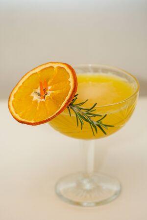 fresh coktail with dried orange 写真素材
