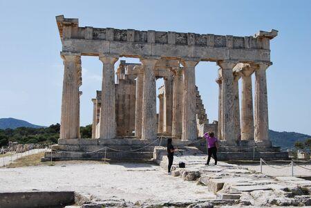 Temple of Aphaia ,Eghina, Egina, Aegina, Grecia 2018