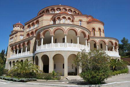 Agios Nektarios Monastery (Aegina)  Greece,2018 報道画像