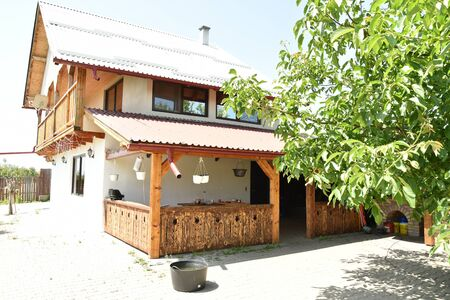 wooden house ,holiday House in Stramba 2019,ROMANIA 報道画像