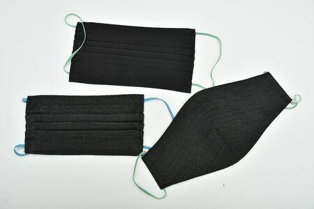 Homemade  black face Masks  design 2020 , 스톡 콘텐츠 - 148244488