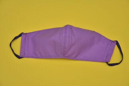 Homemade  violet  face Mask  design 2020 , 스톡 콘텐츠 - 148244503