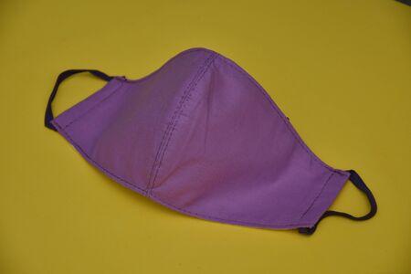Homemade  violet  face Mask  design 2020 , 스톡 콘텐츠 - 148244505