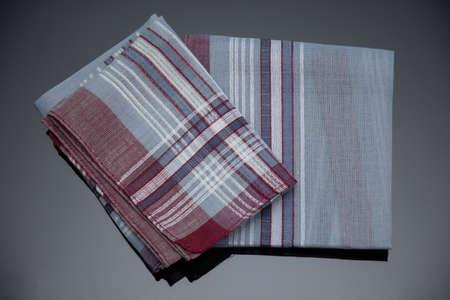 handkerchief with cherries lines