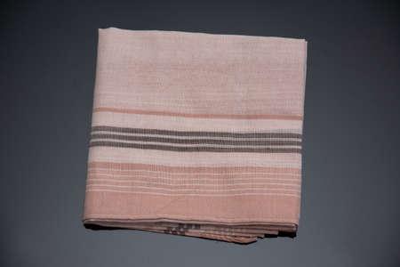 handkerchief with  black lines Imagens