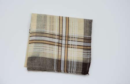 handkerchief with brown  lines Imagens