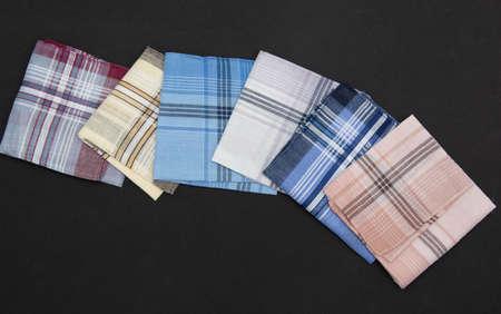 6 Handkerchiefs  with lines