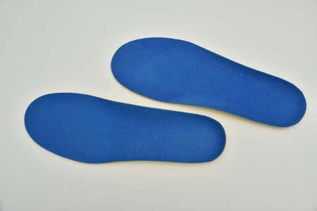 Memory Foam  Shoe Insoles on a black background