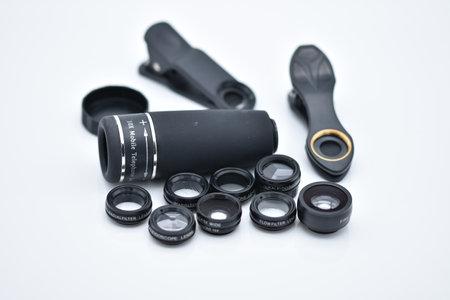 All In 1 Mobile Phone Lens Kit Macro Fisheye Zoom Camera Lens