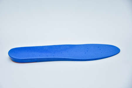 Blue Insoles , Orthotic Shoe Inserts with vent holes