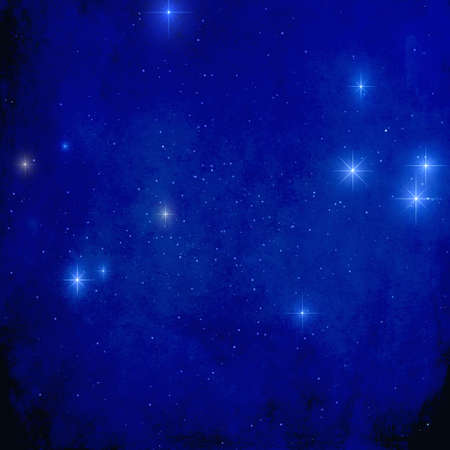 starry night for beautiful background or greeting card or decoration