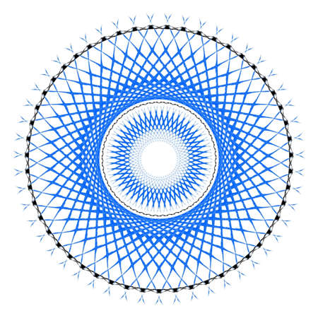 blue and black dream catcher image for backgrounds and decorations
