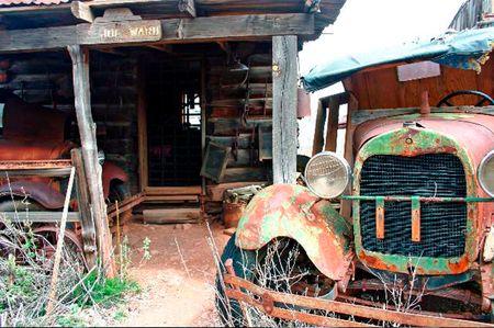 Rusty Car Banco de Imagens