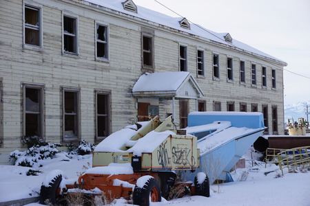 vacant: Vacant building