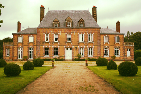 Manor house in Normandy, France