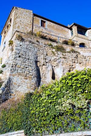 old abandoned city of civita di bagnoregio, viterbo, lazio, italy