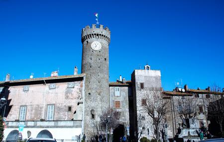 the small town of Bagnaia, Viterbo, Lazio