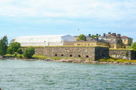 suomi: sea fortress of Suomenlinna (Sveaborg) at Helsinki, Finland