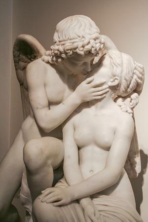 prior: AT COPENHAGEN -  ON 07042007- Cupid and Psyche by Lauritz Prior  Copenhagen - Staatens museum