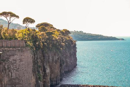 Landscape of peninsula sorrentina, Meta di Sorrento, SantAgnello, Naples, Italy