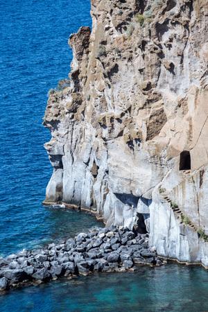meta: Landscape of peninsula sorrentina, Meta di Sorrento, SantAgnello, Naples, Italy