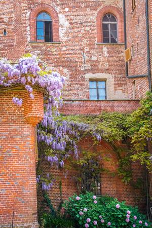 Pralormo castle in Piemonte, Italy