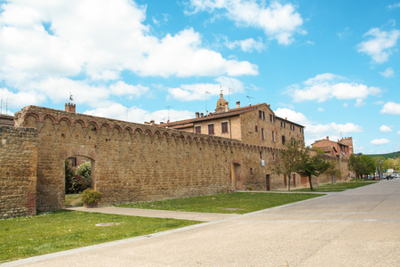 The medieval city of Buonconvento in Tuscany, one of most beautiful burgs in Italy