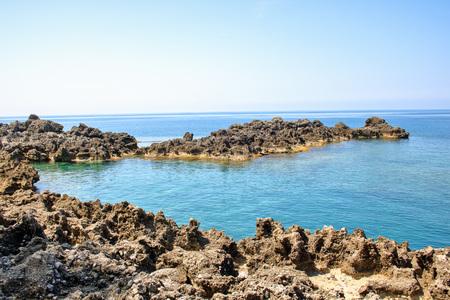 maratea: Little bay of Maratea coast, Basilicata, Italy