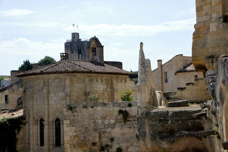 Saint Emilion - France - ON 08262017 - view of the village of Saint Emilion, France