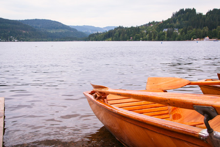 Titisee lake in black forest of Baden Wuttemberg, Germany