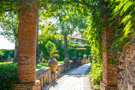 Exterior of Villa Cimbrone at Ravello, Italy